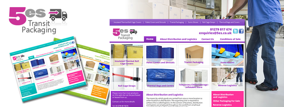 Transit Packaging Website Design